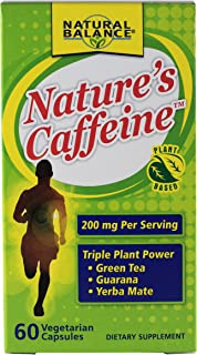 Natural Balance Nature's Caffeine Supplements, 60 Count