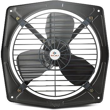 Bajaj Bahar Fresh 225 mm Air Fan (Mettalic Grey)