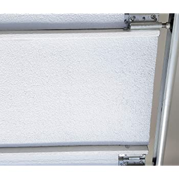 US Energy Reflective Foam Core Insulation Garage Door White Foil 21 Inch x 18ft Roll White//Foil Finish AD5 1//4 inch Thick USA Made Meets Fire Code