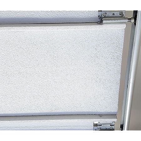 White Double Garage Door Insulation Weatherization Kit Reflective Foam (not Bubble) 5 Panel 18' x 8'