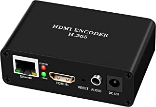 HD 1080P HDMI Video Encoder H.264, Support RTMP, RTMPS, RTSP UDP, RTP, HTTP,HLS, Live Broadcast for YouTube, Facebook, Twi...