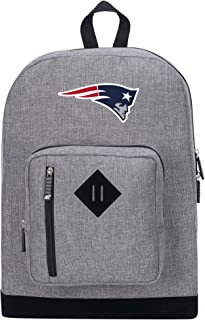 """Officially Licensed NFL New England Patriots """"Playbook"""" Backpack, Gray, 18"""" x 5"""" x 13"""""""