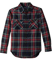 Polo Ralph Lauren Kids Plaid Cotton Twill Workshirt (Big Kids)