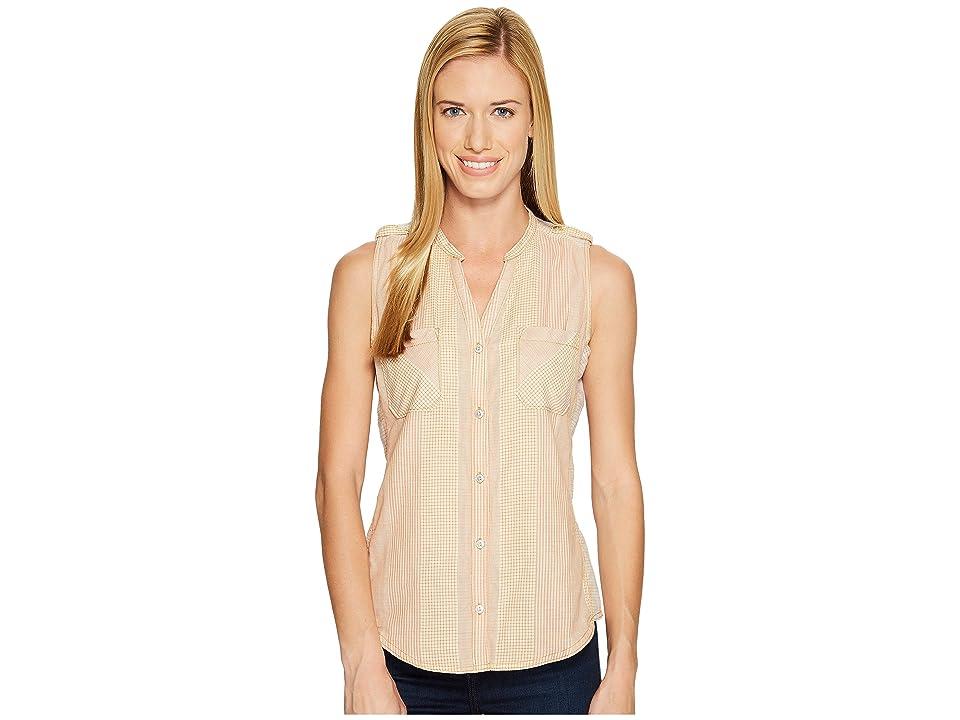 Woolrich Conundrum Eco Rich Sleeveless Shirt (Desert Sun) Women