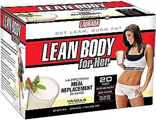 Labrada Nutrition Lean Body for Her Mrp Soft, Vanilla Ice Cream, 20-Count