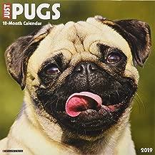 Just Pugs 2019 Wall Calendar (Dog Breed Calendar)