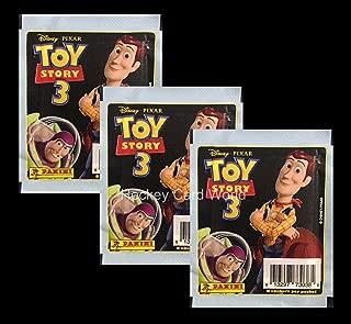 Disney Pixar Toy Story 3 - 8 Album Sticker Pack x3 (3 Pack Lot - 24 Stickers)