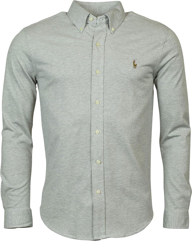 Ralph Lauren Men's Long Sleeve Oxford Button Down Shirt