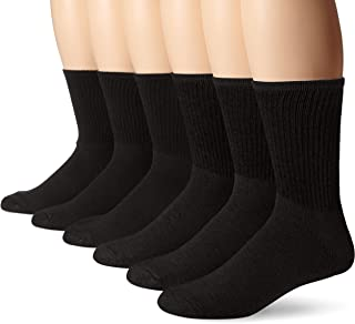6-Pair Cushion Crew Crew Socks