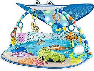 Bright Starts, Disney Baby, Tapis d'Eveil le Monde de Némo Mr. Ray Ocean Lights, Lumières et Plus de 20 minutes de Mélodie...