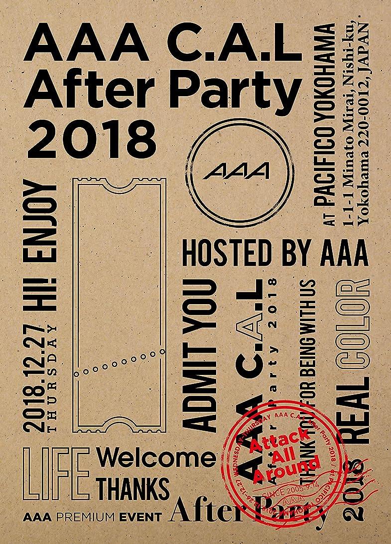 温度計明確に秘密のAAA C.A.L After Party 2018(Blu-ray Disc)