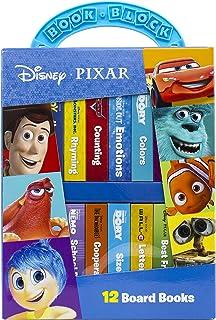 Disney Pixar - My First Library 12 Board Book Block Set - PI Kids