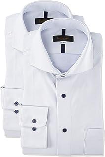 [スティングロード] ワイシャツ 超形態安定 ノーアイロンシャツ 2枚セット ボタンダウン カッタウェイ ニットシャツ クールビズ メンズ