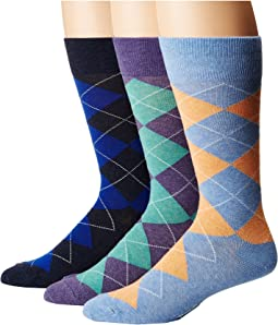 Polo Ralph Lauren - Argyle 3-Pack Socks
