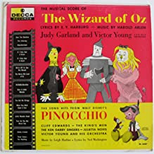 The Musical Score of the Wizard of Oz / The Song Hits From Walt Disney's Pinocchio [Vinyl LP Record]