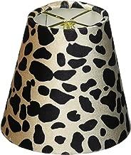 Royal Designs Black & Brown Large Leopard Print Chandelier Lamp Shade CS-960-5 1