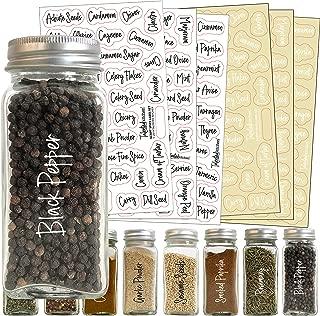 Spice Label Sets 200 Script Spice Combo Black/White