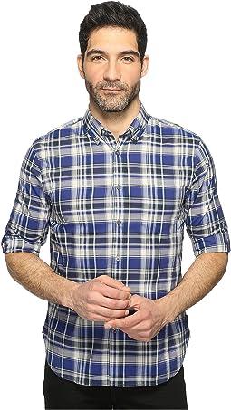 Mitchell Slim Fit Button Down Collar Sport Shirt W387T1B