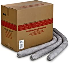 ESP 30GS34-SB ESP Poly-Cellulose Universal Super Absorbent Flake Sock, 52 Gallon Absorbency, 3