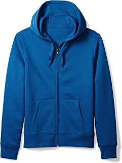 Amazon Essentials Men's Standard Full-Zip Hooded Fleece Sweatshirt