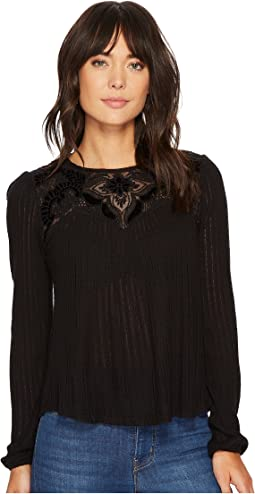 Lucky Brand - Yoke Top