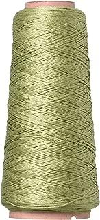 DMC Six Strand Embroidery Cotton Cone, Green Grey