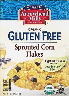 Arrowhead Mills Organic Gluten Free Sprouted Corn Flakes, 10 oz