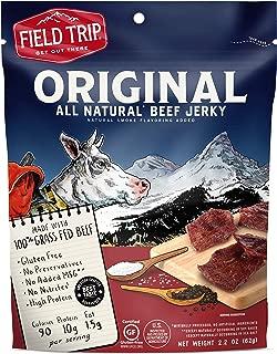 Field Trip All Natural Grass-Fed Beef Jerky, Original, 2.2 Ounce
