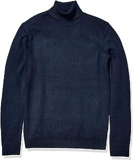 Amazon Brand - Goodthreads Men's Supersoft Marled Turtleneck Sweater