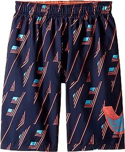 """Vivid Swoosh 9"""" Volley Shorts (Big Kids)"""