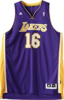 adidas PAU Gasol Purple Revolution 30 Swingman Los Angeles Lakers Jersey