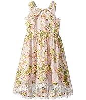 Floral Chiffon Dress (Big Kids)