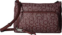 Key Item Monogram Multi Entry Crossbody