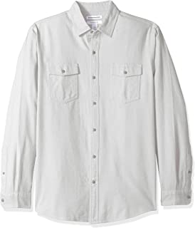 white flannel shirt mens