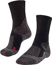 FALKE Trekkingsokken TK1 wol heren zwart blauw vele andere kleuren dikke versterkte wandelsokken zonder patroon met sterke...