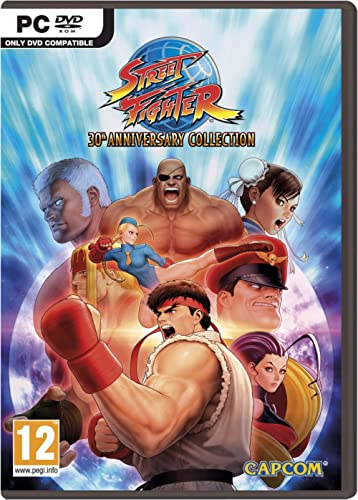 Street Fighter 30th Anniversary Collection (PC DVD)