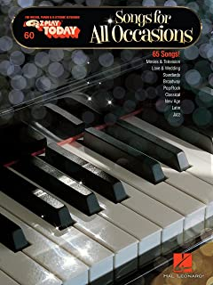 Songs for All Occasions Songbook: E-Z Play Today Volume 60 (English Edition)