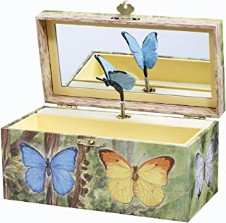 Image of Butteflies Jewlery Music Box for Girls