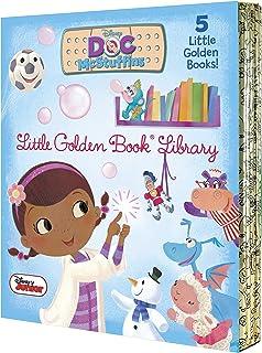 Doc McStuffins Little Golden Book Library (Disney Junior: Doc McStuffins): As Big as a Whale; Snowman Surprise; Bubble-Rif...