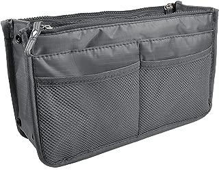 Updated Purse Handbag Organizer Insert Liner Bag in Bag 13 Pockets 3 Size Many Colors