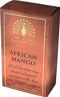 The English Soap Company, Pure Indulgence African Mango, Shea Butter Soap, 200g