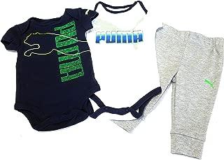Baby Boys 3pc Bodysuits and Pants Set, Blue