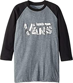 Vans Kids Focus Raglan (Big Kids)