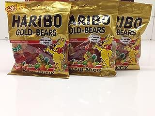 Haribo Halal Gold Bears 100g X 3 (Altin Ayicik)!! Turkish
