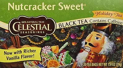 Celestial Seasonings Black Tea, Nutcracker Sweet, 20 Count (Pack of 6)