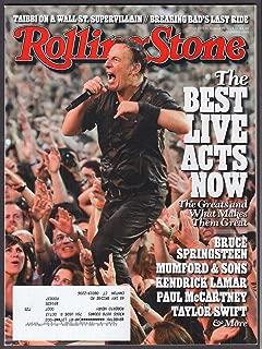 ROLLING STONE Bruce Springsteen Mumford & Sons Kendrick Lamar + 8/15 2013