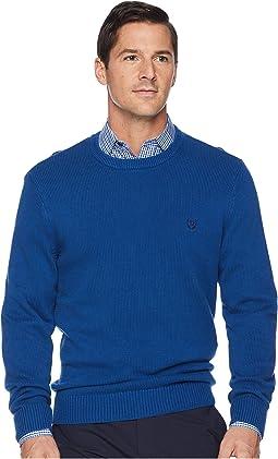 Cotton-Crew Neck Sweater