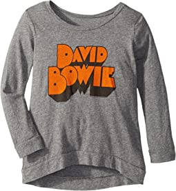 The Original Retro Brand Kids - David Bowie Tri-Blend Pullover (Big Kids)