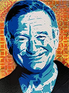 Robin Williams Art Print 8x10 Inches Signed