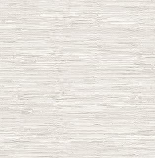 WallPops NU2875 Grassweave Cream Peel and Stick Wallpaper, Neutral